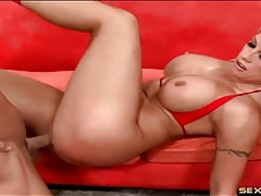 Big dick pounds the hell out of a hot milf tubes