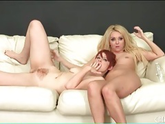 Cute redhead goes down on lesbian aaliyah love tubes