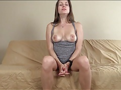 Mistress teases with her gorgeous tits tubes