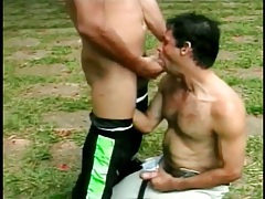 Hot latin guys are great cocksuckers outdoors tubes