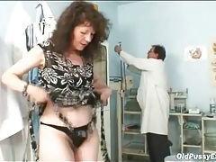 Hairy pussy medical exam from the doctor tubes