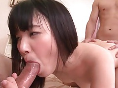 Banging an asian cutie from both ends is hot tubes
