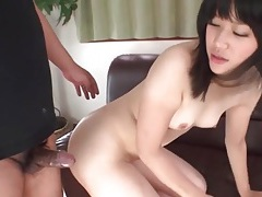 Tight japanese asshole fucked from behind tubes