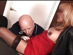 Tranny is dressed like a hooker for her man tubes