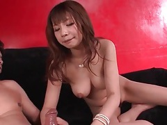 Mouth fucking and pussy pounding with a japanese girl tubes
