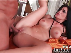 Dude brings a busty babe home and fucks her ass tubes