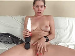 She wants his cum badly and he jizzes on her pussy tubes