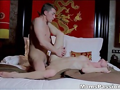 Erotic pussy penetration with a hot milf tubes