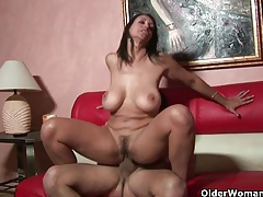 Big titted milf persia monir gets facial and creampie tubes
