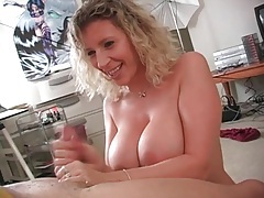 Excellent handjob from milf sara jay tubes