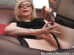 Pornstar nina hartley shows you her wet cunt tubes