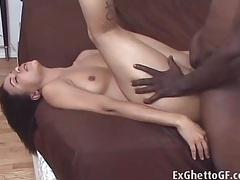 His mocha lady loves that balls deep sex tubes