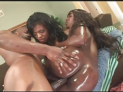 Slippery ladies fucked by a fit black guy tubes