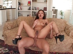 Dirty girl is eager for a fat cock in her ass tubes
