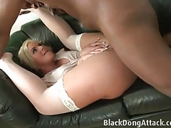 Phoenix marie fucked in her stockings and skirt tubes