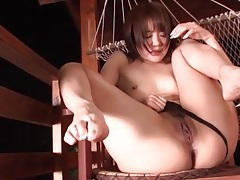 Powerful orgasm makes the japanese girl drool tubes