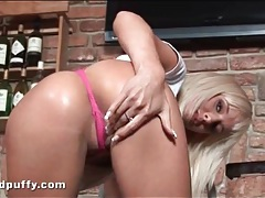 Natali blond needs you to see her cameltoe tubes