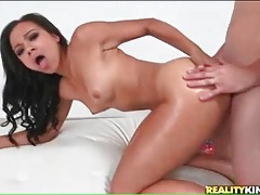 Beauty with a big ass goes for a wild dick ride tubes