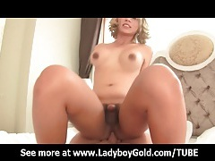 Busty ladyboy lorla riding big cock tubes