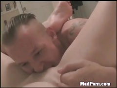 Homemade cunt eating and hard pounding tubes