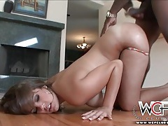 Katie cummings oiled up and fucked from behind tubes