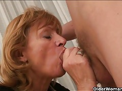 Her old pussy lusts for young dick tubes