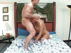 Dirty milf whore swallows his cock tubes