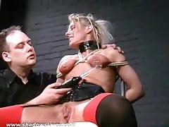 Blonde slave crystels kinky electro bdsm tubes
