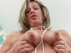 Secretary milf needs to get out of her clothes tubes