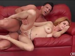 Thick cock drills a voluptuous blonde slut tubes