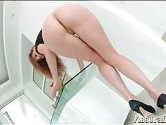Her hot ass and legs look amazing in heels tubes
