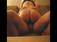 Dick eating blonde wife gets on top and rides tubes