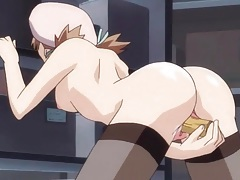 Master uses and abuses his anime submissive tubes