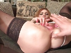 Deeply finger fucked milf sucks his cock erotically tubes