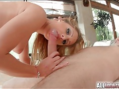 Fucking her perfect cunt and busting a nut inside her tubes
