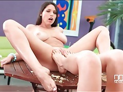 Fruit and foot fetish play with a couple of hot lesbians tubes