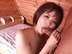Hot stroking and head in bed from a japanese babe tubes