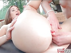 Horny lesbian lubed and fist fucked by her lover tubes