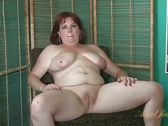 Chubby mature gives a naked interview tubes