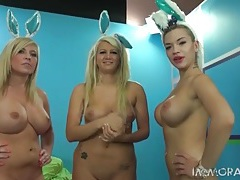 Naked ladies in bunny ears for easter tubes