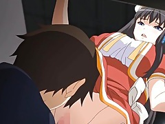 Anime girl eaten out to an orgasm tubes