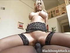 Julia ann erotically fucked by big black cock tubes