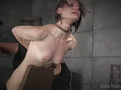Bound girl dunked in a tub as she suffers tubes