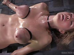 True suffering of this busty bdsm girl is sexy tubes