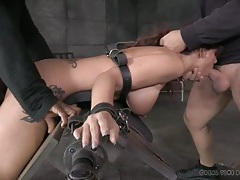 Tight bondage makes it easy to fuck the hot milf tubes