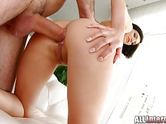 Skinny temptress demands an anal creampie tubes