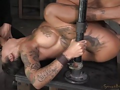 Tattooed bonnie rotten used like a sex slave tubes