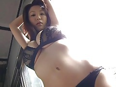 Big japanese tits are mouth watering in sheer lingerie tubes