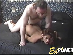 Girl in boots does her first ever anal sex tubes