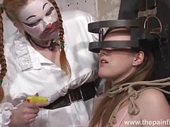 Taylors bizarre lesbian humiliation tubes